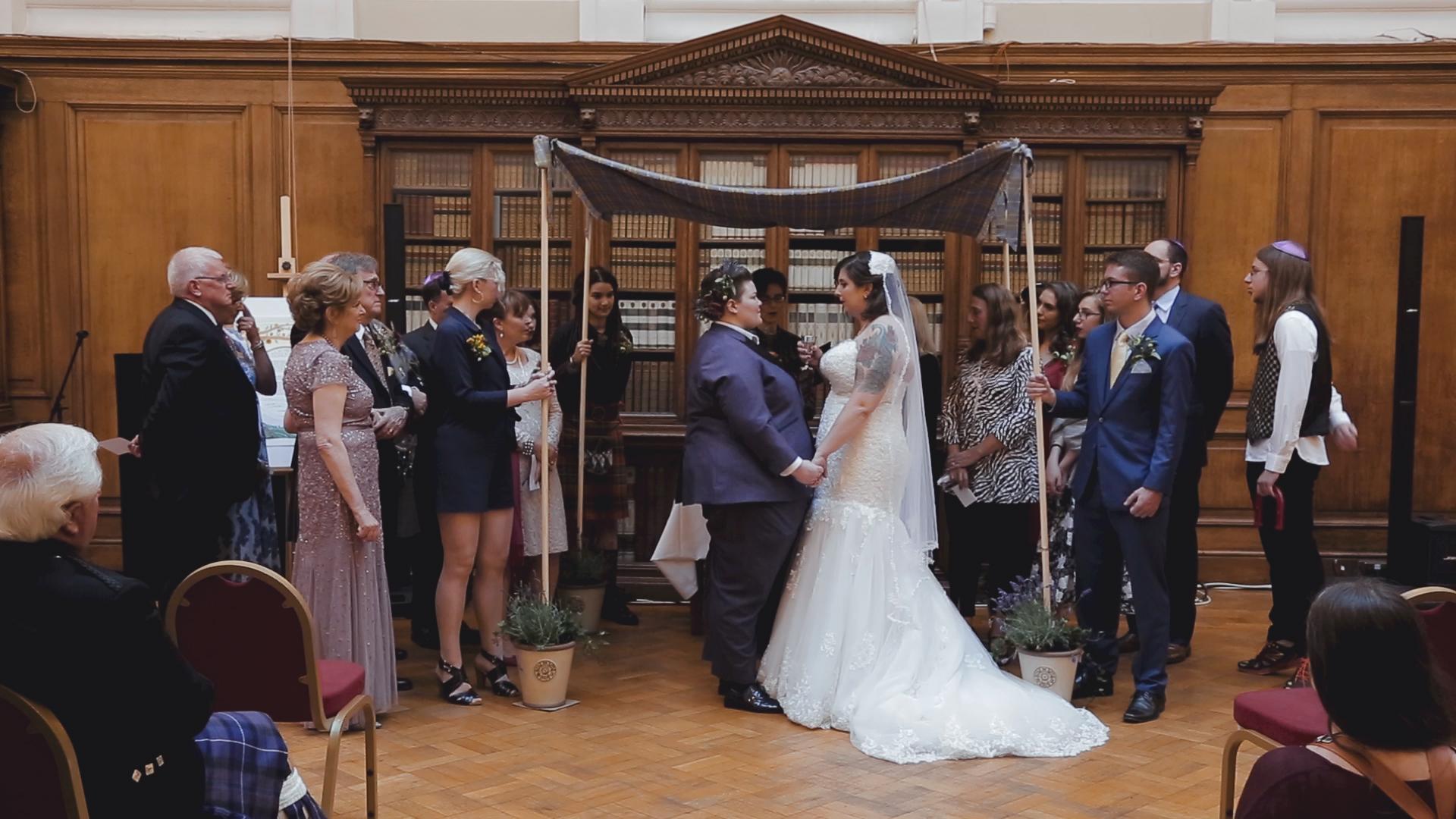 Jenn + Naomi - Fusion Wedding in Glasgow 1