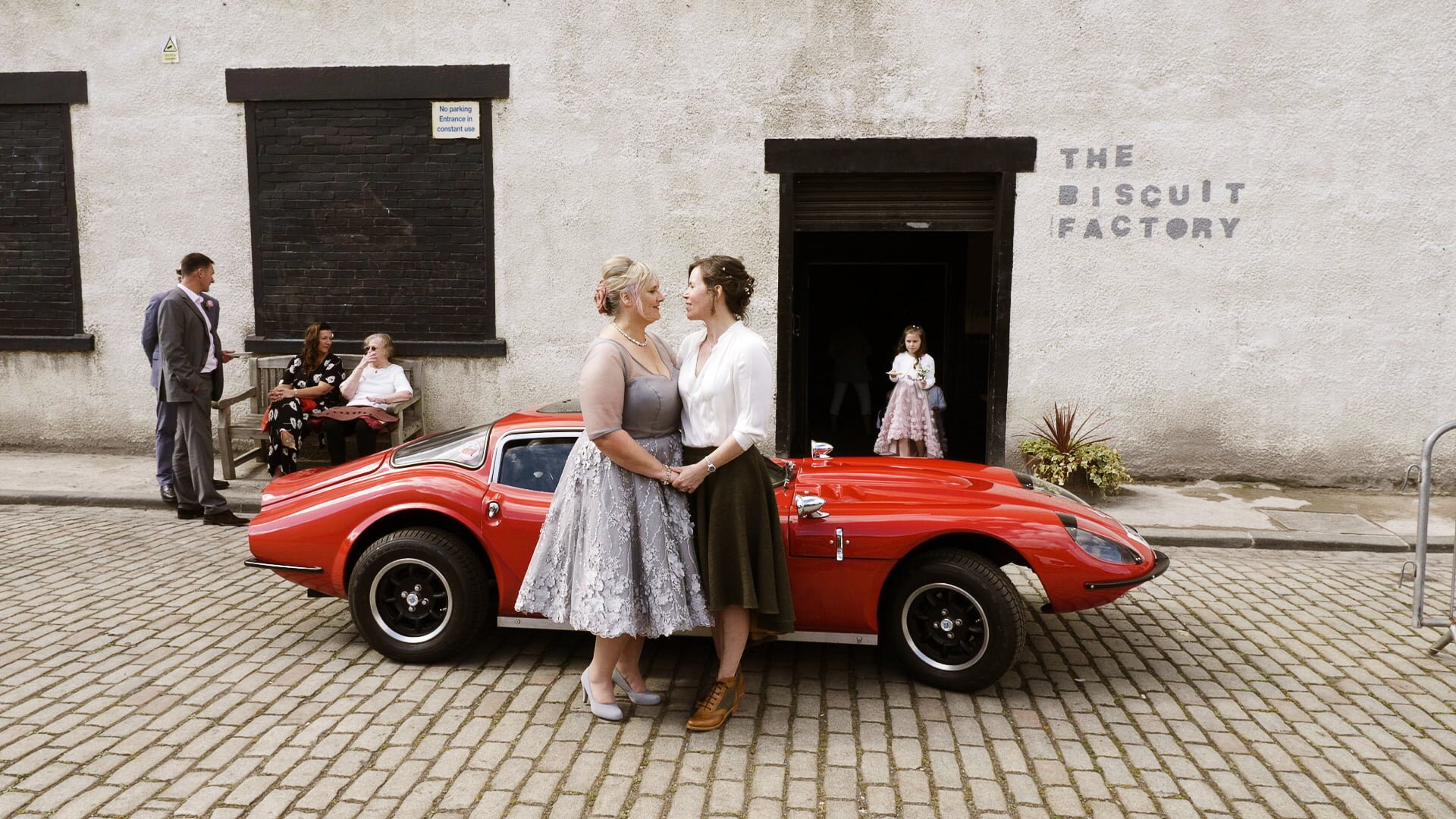 The Biscuit Factory wedding videographer 2